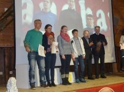 Siegerehrung Landkreis-Laufcup 2014